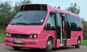 Pinker Partybus Düsseldorf