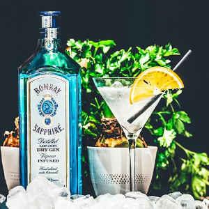 bombay gin tasting